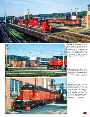 Bessemer and Lake Erie Railroad In Color Volume 2: 1994-2019<br><i><small>May 1, 2020 Release</small></i>