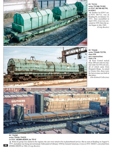 Penn Central Color Guide to Freight and Passenger Equipment Volume 2<br><i><small>July 1, 2020 Release</small></i>