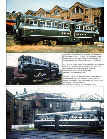 New Haven Power In Color Volume 3: Self-Propelled Passenger Equipment<br><i><small>February 1, 2021 Release</small></i>