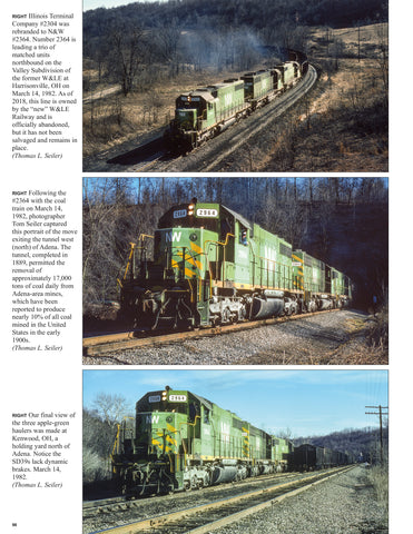 Norfolk & Western Power 1955-82 In Color V3: 2nd Gen. Roadswitchers & Newer Power