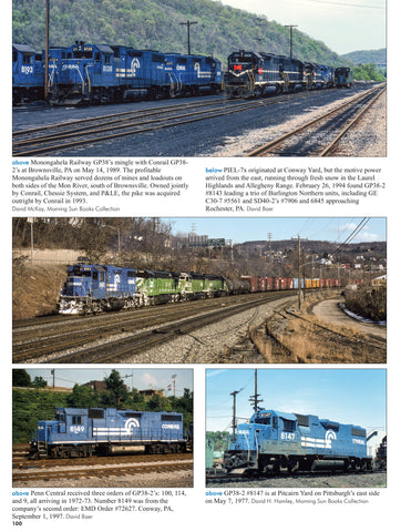 Conrail Power In Color Volume 4: 7000-8241<br><i><small>March 1, 2019 Release</small></i>