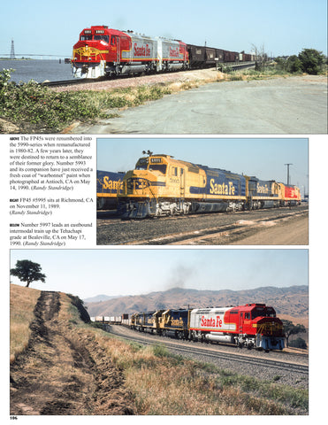 Santa Fe Power In Color V2: Electro-Motive E, F, & Cowl Units