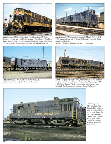Norfolk & Western Railway Power In Color V2: 1955-82 1st Gen. Roadswitchers<br><i><small>Available June 1, 2019</small></i>
