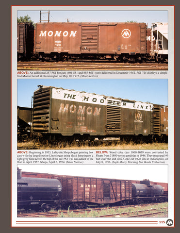 Monon In Color V2<br><i><small>November 1, 2019 Release</small></i><br><font color =0D5901><i>Holiday Release!</i><font>