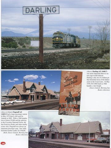 Santa Fe Facilities In Color Volume 1: Transcontinental Route - Chicago to Los Angeles