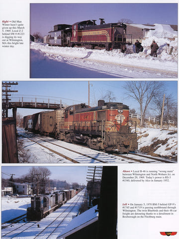 Trackside along the Boston & Maine 1945-1975 with Donald G. Hills (Trk #38)