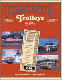 Toronto Trolleys In Color