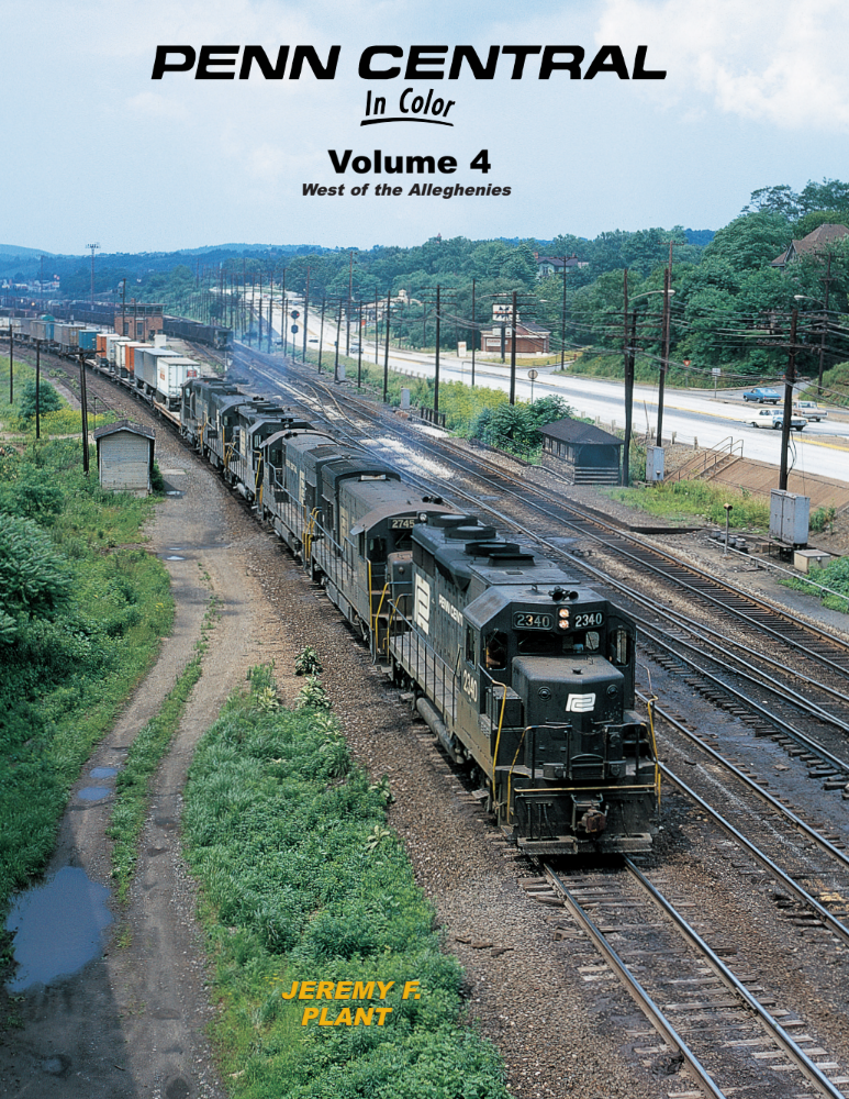Penn Central In Color Volume 4: West of the Alleghenies