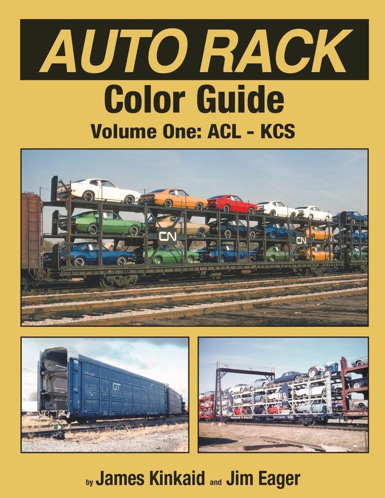 Auto Rack Color Guide Volume 1: ACL-KCS<br><i><small>Available January 5, 2018</small></i>