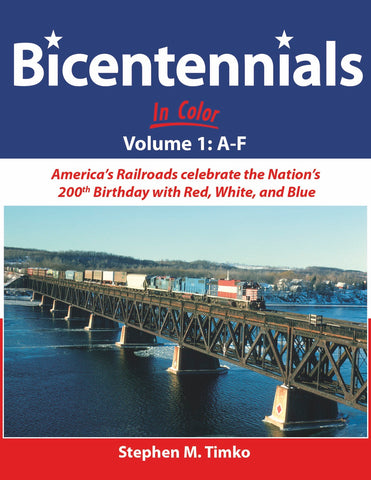 Bicentennials In Color Volume 1: A-F<br><i><small>Available June 1, 2018</small></i>