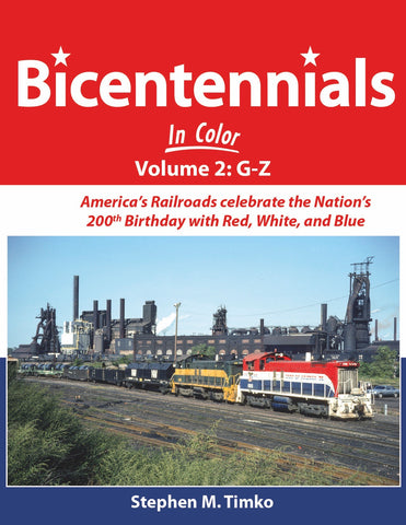 Bicentennials In Color Volume 2: G-Z<br><i><small>Available November 1, 2018</small></i>