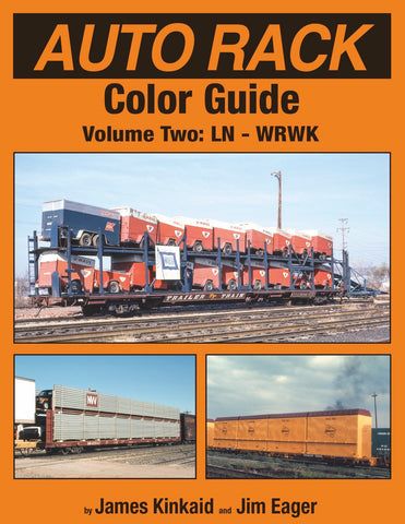 Auto Rack Color Guide Volume 2<br><i><small>January 5, 2019 Release</small></i>