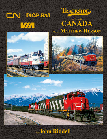 Trackside Around Canada with Matthew Herson<br><i><small>November 1, 2020 Release</small></i>