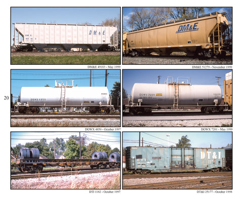 Freight Car Color Portfolio Book 5: CSXT-NS, Emery Gulash's 1980-2000 Photography (Softcover)