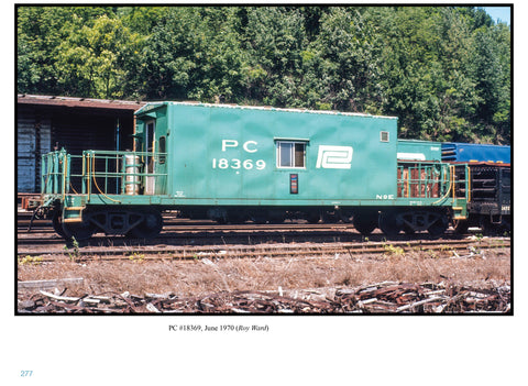 Penn Central Caboose Color Portfolio (eBook)