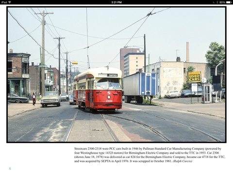 Philadelphia Area Streetcars (eBook)