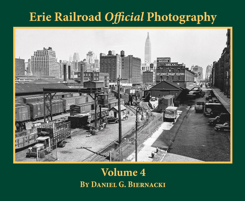 Erie Railroad Official Photography Volume 4 (Softcover)