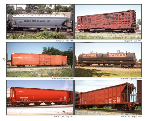 Freight Car Color Portfolio Book 5: CSXT-NS, Emery Gulash's 1980-2000 Photography (Softcover)<br><i><small>April 1, 2019 Release</small></i>