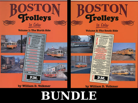 Boston Trolleys In Color Volumes 1 and 2 Bundle (Digital Reprints)