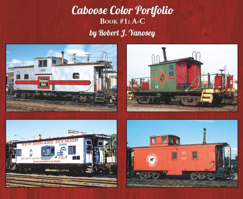 Caboose Color Portfolio Book #1 A-C (Softcover)