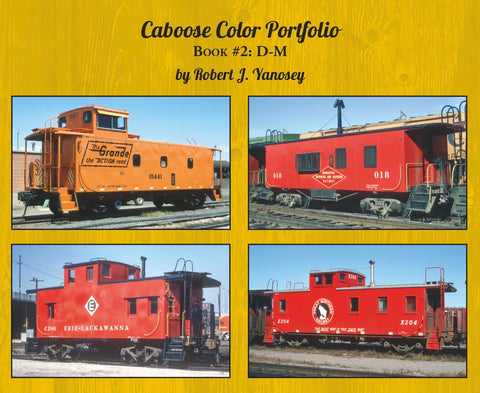Caboose Color Portfolio Book #2 D-M (Softcover)<br><i><small>Available June 1, 2018</small></i>