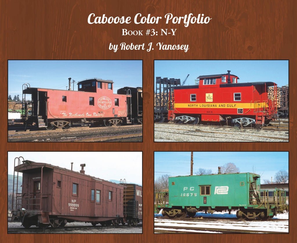 Caboose Color Portfolio Book #3 N-Y (Softcover)