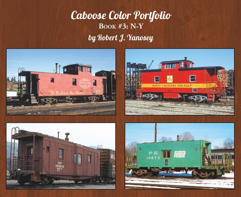 Caboose Color Portfolio Book #3 N-Y (Softcover)<br><i><small>Available July 1, 2018</small></i>