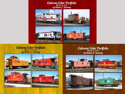 Caboose Color Portfolio Books 1-3 Bundle (eBooks)