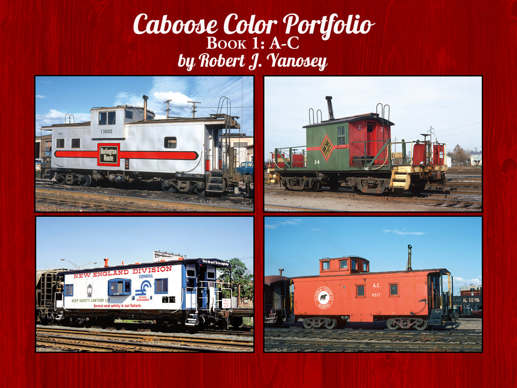 Caboose Color Portfolio Book 1: A-C (eBook)
