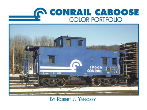 Conrail Caboose Color Portfolio (eBook)
