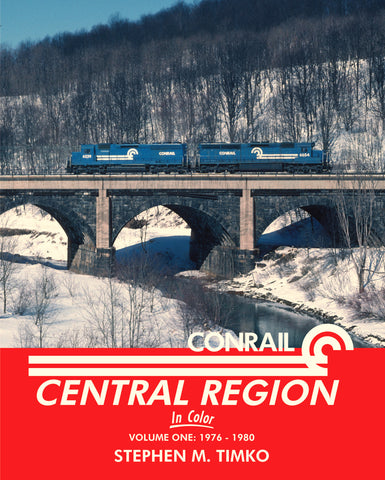 Conrail Central Region In Color