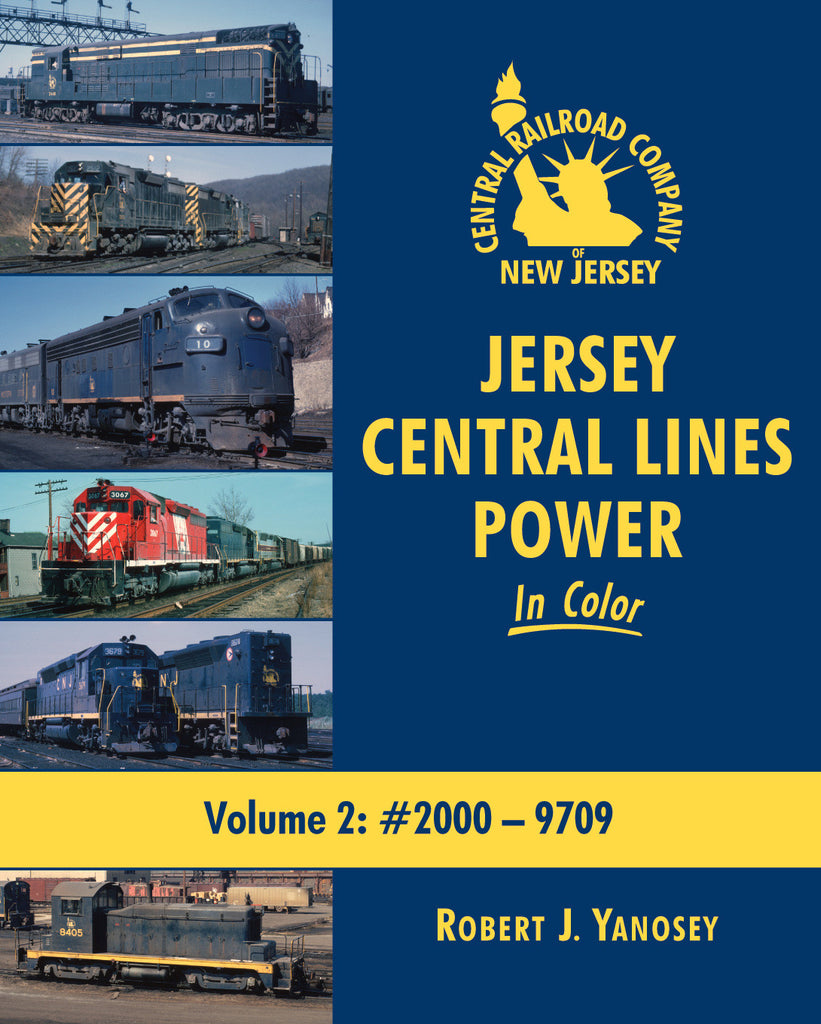 Jersey Central Lines Power In Color Volume 2: #2000-9709