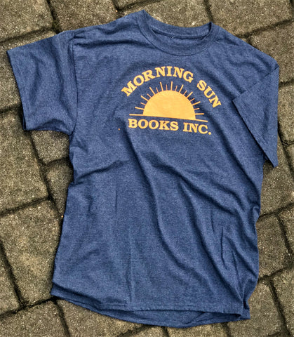 Morning Sun Books T-Shirt<br/> <em><small> Free with purchase of two hardcovers or softcovers!</em></small>