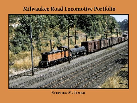 Milwaukee Road Locomotive Portfolio (eBook)