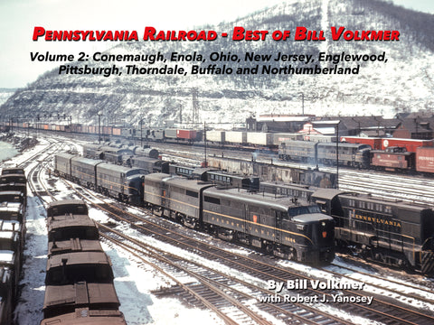 Pennsylvania Railroad - Best of Bill Volkmer Volume 2  (eBook)