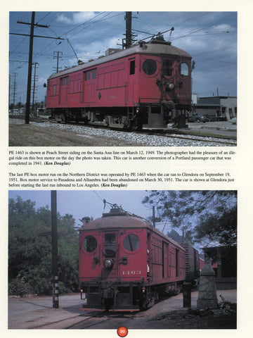 Pacific Electric In Color Volume 1 (Digital Reprint)
