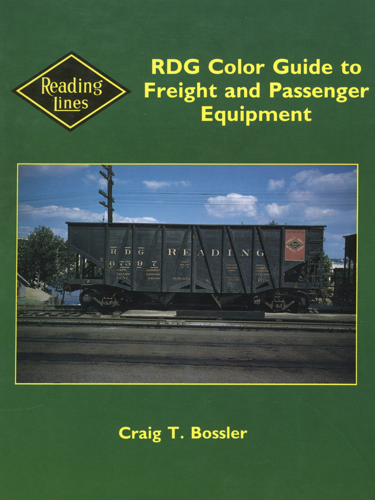 RDG Color Guide to Freight and Passenger Equipment