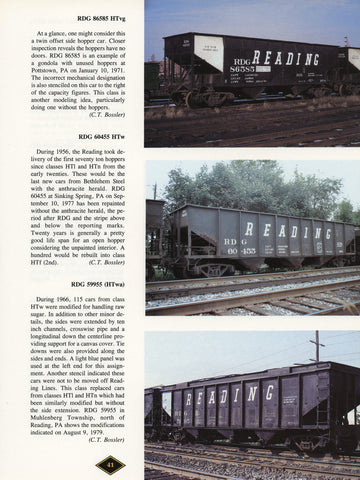 RDG Color Guide to Freight and Passenger Equipment (Digital Reprint)