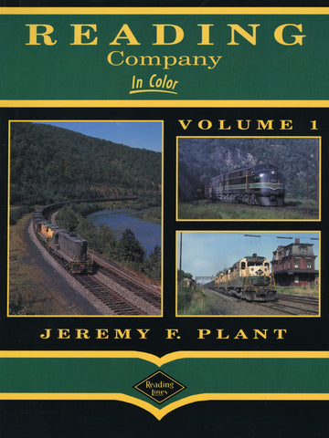 Reading Company In Color Volume 1 (Digital Reprint)