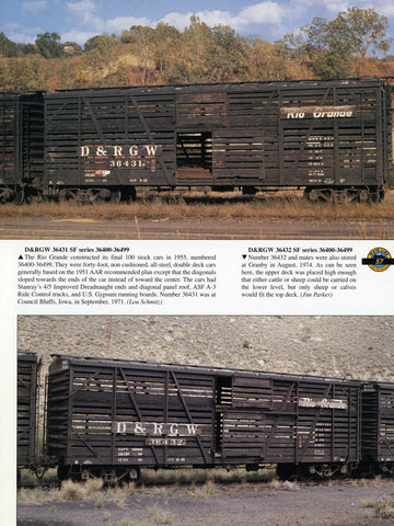 Rio Grande Color Guide to Freight and Passenger Equipment (Digital Reprint)