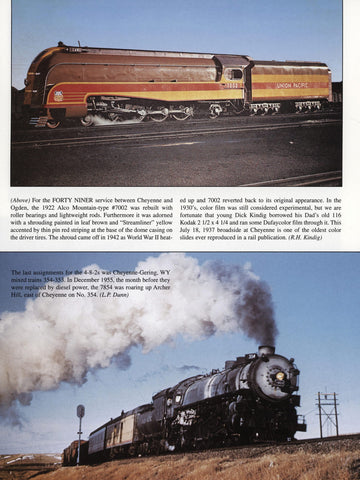Union Pacific Steam In Color (Digital Reprint)