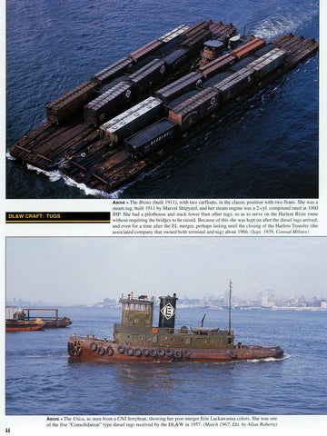 New York Harbor Railroads In Color Volumes 1 and 2 Bundle (Digital Reprints)
