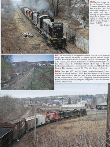 Trackside around the Pennsylvania Cement District (Digital Reprint)