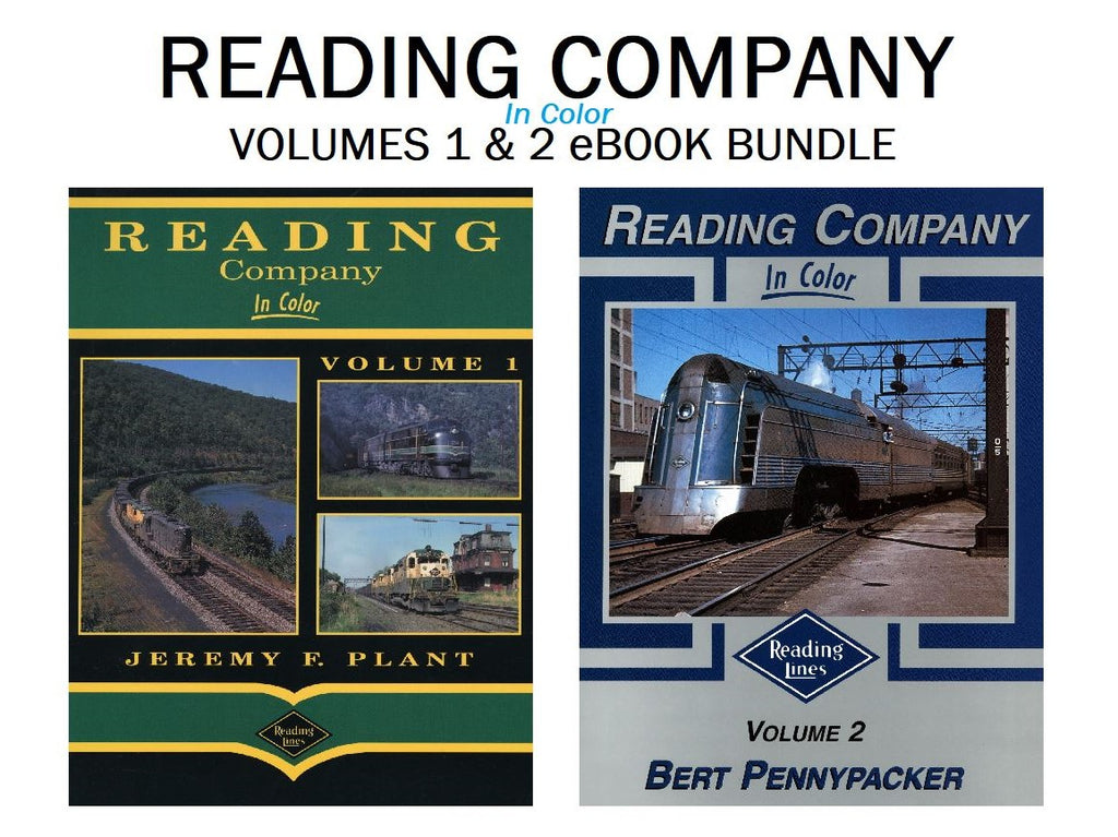 Reading Company In Color Volumes 1 and 2 Bundle (Digital Reprints)