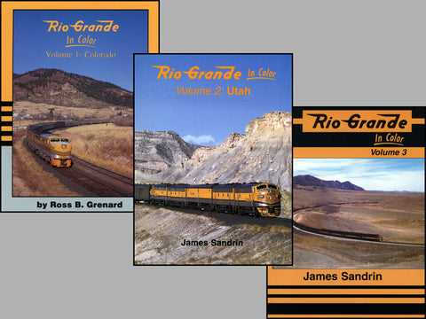 Rio Grande In Color Volumes 1-3 Bundle (Digital Reprints)