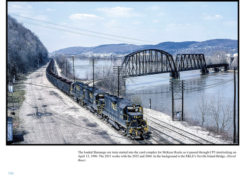 Pittsburgh & Lake Erie Railroad - The Last 30 Years (eBook)