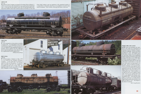 Tank Car Color Guide Volume 1: Cars with Full Center Sills (Digital Reprint)