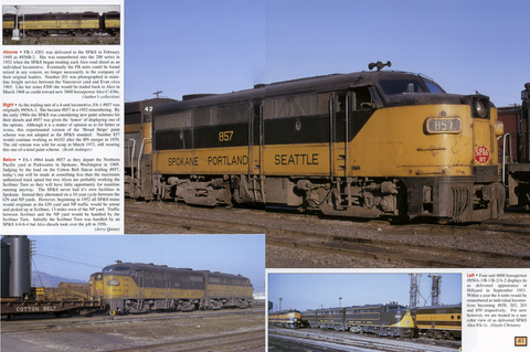Spokane Portland and Seattle Railway In Color: Diesels of the Northwest's Own Railway (Digital Reprint)