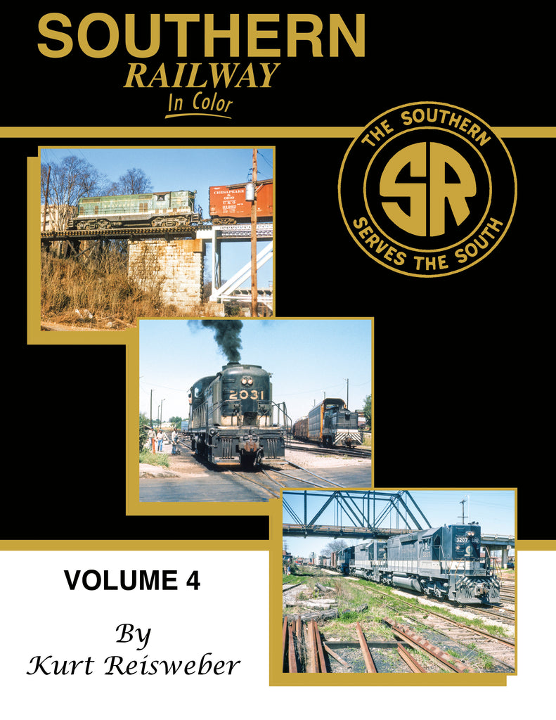 Southern Railway In Color Volume 4<br><i><small>August 1, 2020 Release</small></i>