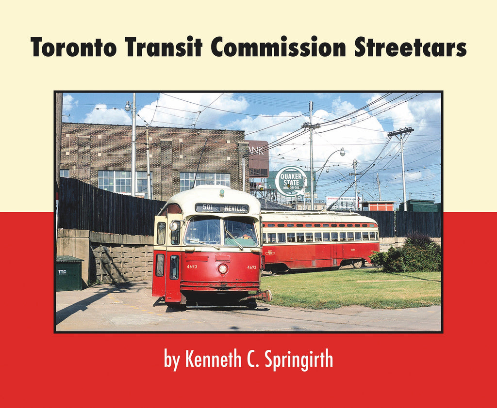 Toronto Transit Commission Streetcars (Softcover)